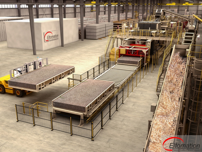Large WWC Wall Element Plant - Eltomation B.V.