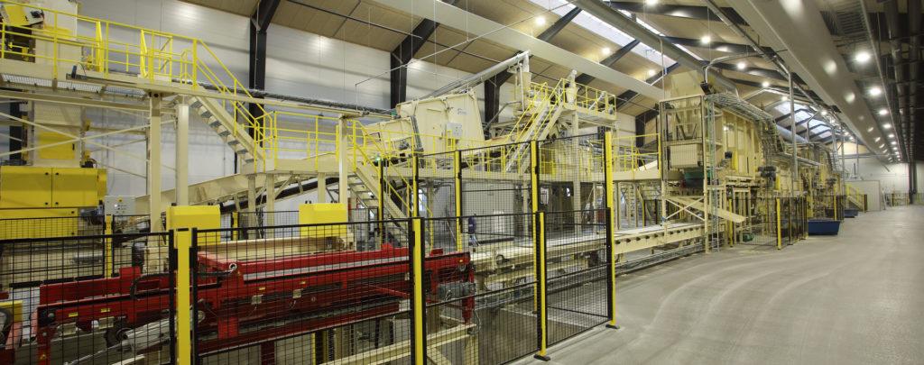 Main Forming Line WWCB Plant