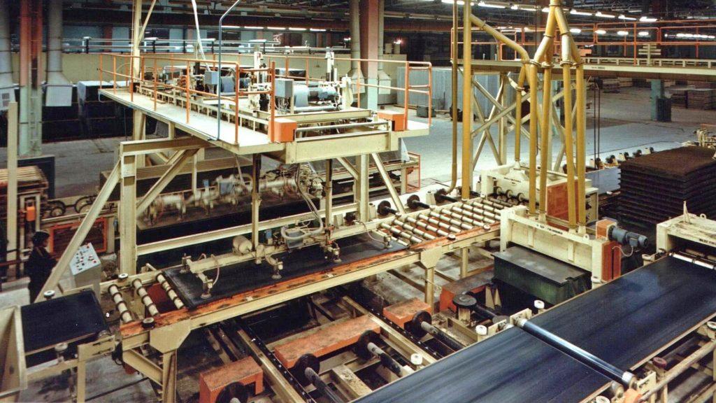 CBPB Plant, Caul Handling System