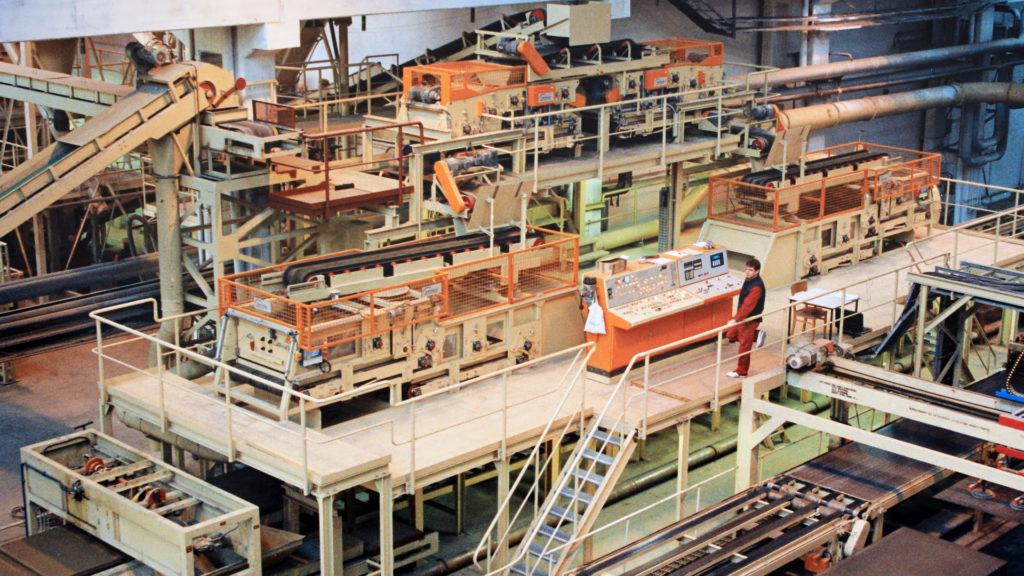 CBPB Plant, Main Forming Line